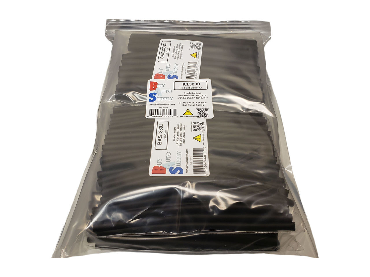 ASK13800 3:1 Dual Wall Adhesive Lined Heat Shrink Tube - Starter Kit