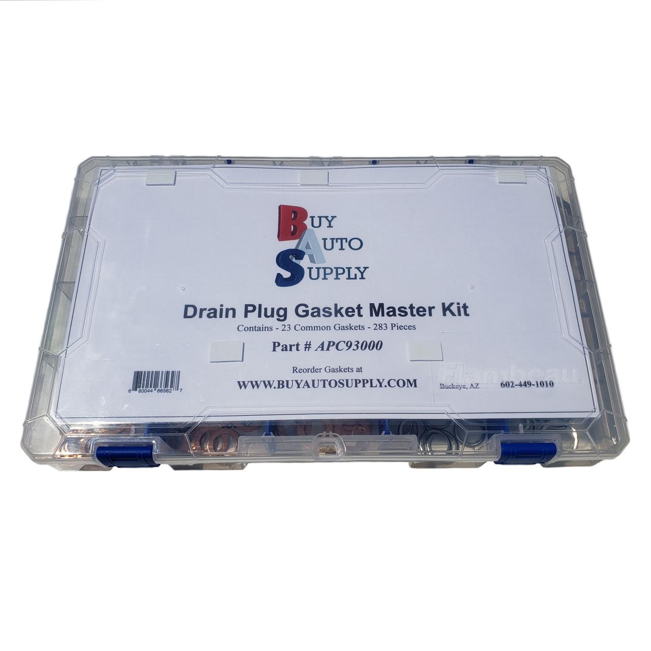 Oil Drain Plug Gaskets Fiber Washer Assortment Kit by A Plus Parts House