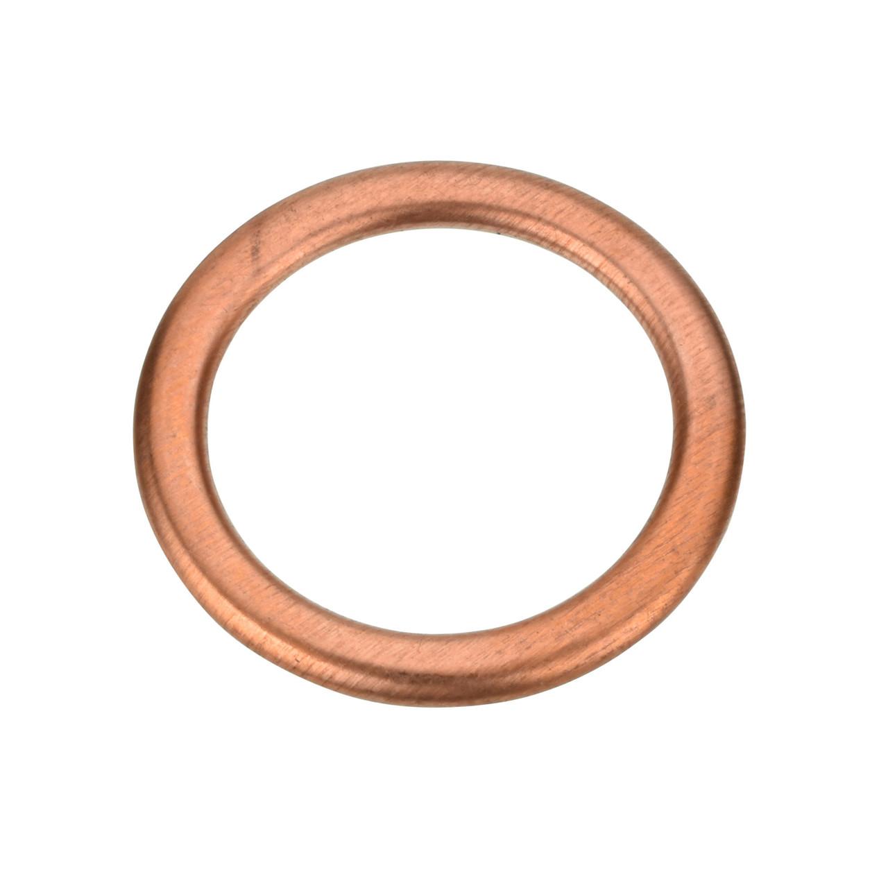M16 Copper Oil Drain Plug Crush Gasket - Interchanges: Nissan 11026-00QAB