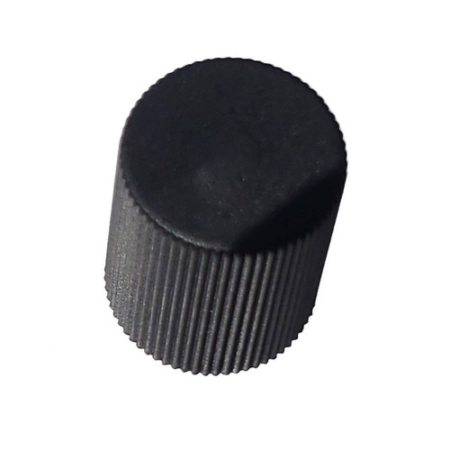 AC Service Cap - Black Low Side M8x1.0 - Interchanges: MT0062, 59937