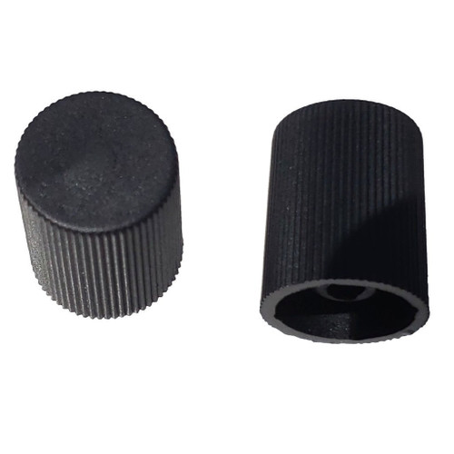AC Service Port Cap - Black Low Side M8x1.0 - Interchanges: MT0062, 59937