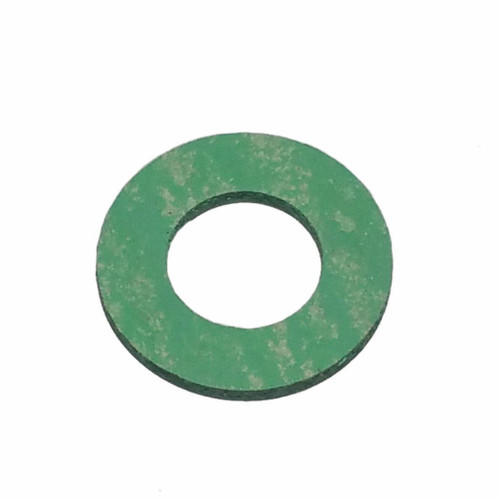 Single M12 Green Synthetic Drain Plug Gasket