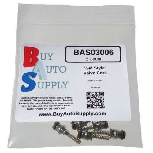 M8 A//C Valve Core for R-1234YF Buy Auto Supply # BAS03013 5 Pack