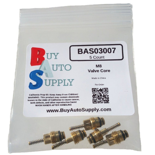 Bag of 5 M8 A/C Valve Cores