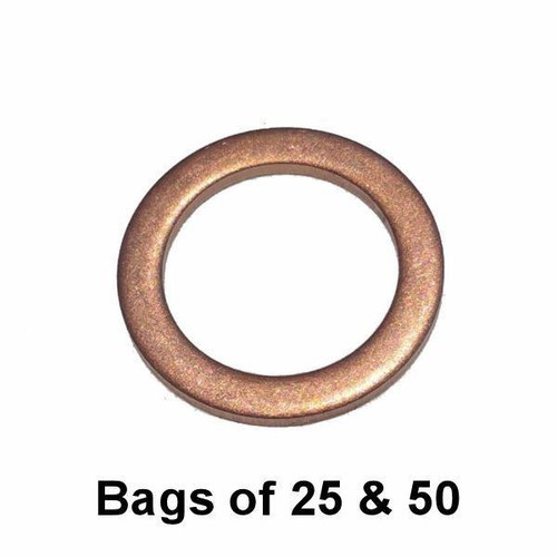 Oil Drain Plug Gasket - M14 Copper Interchange: Dorman 097-135, 097135
