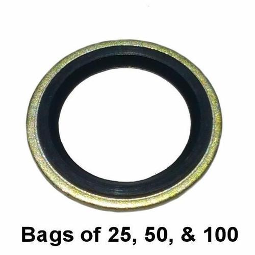 Metal Rubber Oil Drain Plug Gasket M16