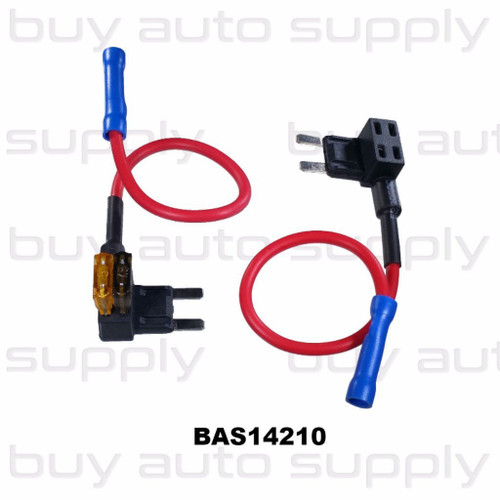 Tap-A-Circuit Fuse Holders - Mini Blade - BAS14210 - from Buy Auto Supply