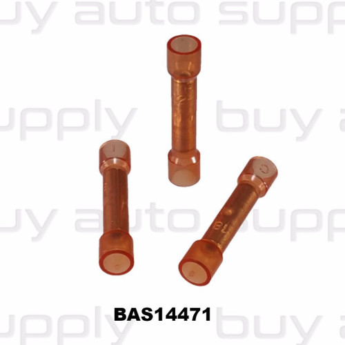 Butt Connectors - Red Nylon - Made in USA- BAS14471