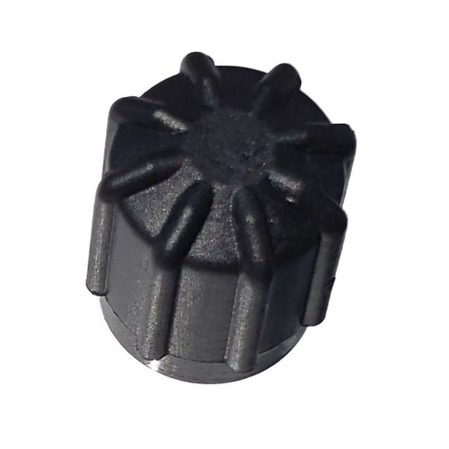 AC Service Cap Black - Interchanges: BMW 64538387437, 64538390633, 66206003001, Delco 15-5457, GM 25613359