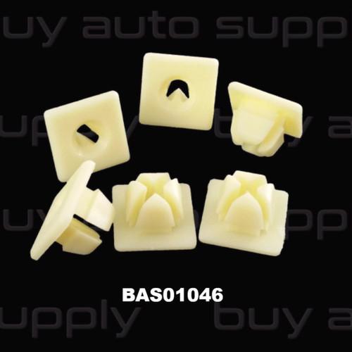 GM License Plate Screw Grommet #14 Screw - BAS01046 - Interchange 4755299, 13960, 2940, 80-5260