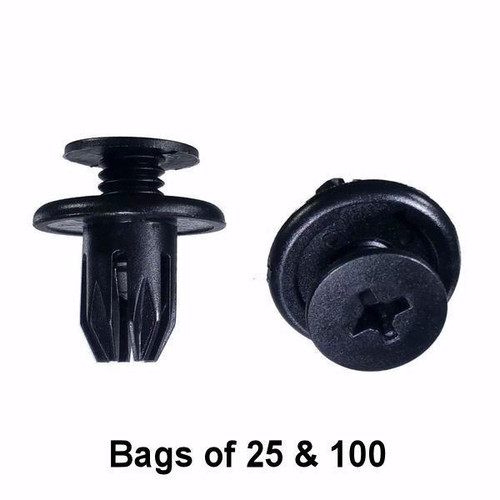 Honda / Acura Trim Retainer Clips - Interchange: Auveco 17267 Honda 91503SP0003
