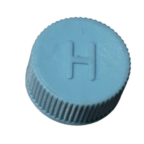 AC Service Cap R134a - Blue High Side M10x1.25 - Interchanges: MT0311, 69501
