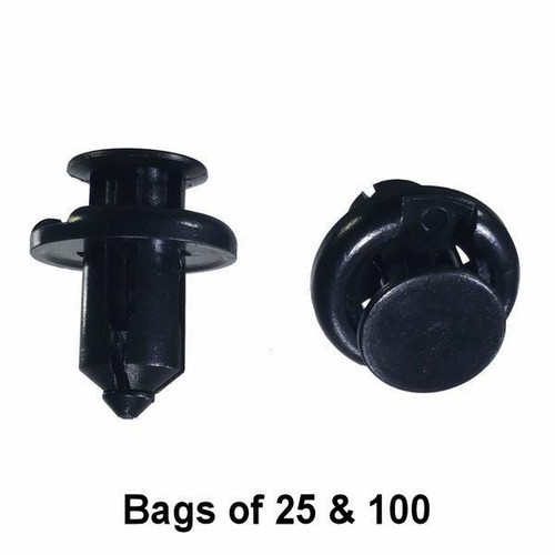 Honda Bullet Push Retainer Clips - Interchange: Auveco 19233 Dorman 700-627 700-080