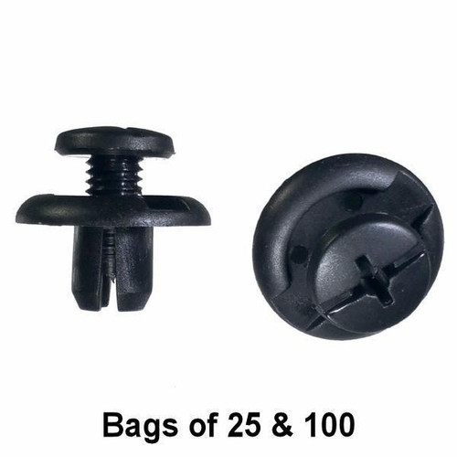 Honda Splash Shield Retainer Clips - Interchange: Auveco 17379 Honda 91512-SM4-003