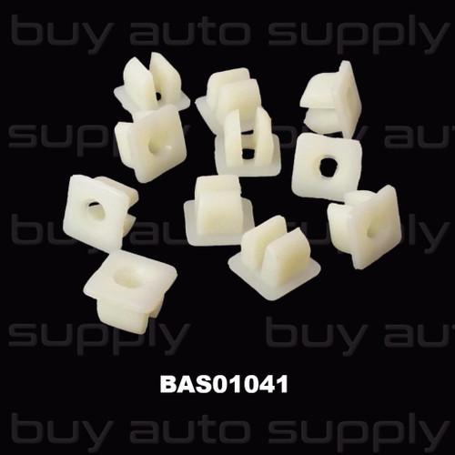 Screw Grommet 7MM Nylon Nut - BAS01041 - Interchange: 13930, 14288, 1577, 76-4295