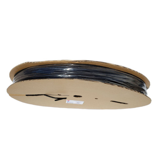 1//4 Adhesive Lined - Black Dual Wall Heat Shrink Tube 6.4mm 5 Foot Roll