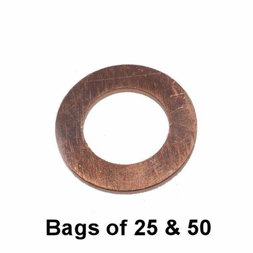 Oil Drain Plug Gasket - M12 Copper Interchange: Dorman 095-001 095001