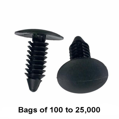 Christmas Tree Fasteners - Interchange: Dorman 799-135, 700-365, 45680, 963-058 Auveco 11146