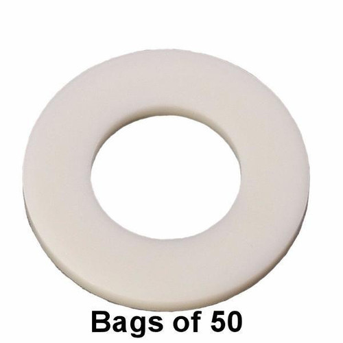 Oil Drain Plug Gasket - Large M12 Nylon - Interchange: Dorman 097-022, 097022