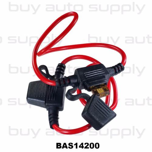 In Line Fuse Holder - Mini Blade - BAS14200 - from Buy Auto Supply