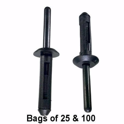 Nylon Rivet Interchange: Auveco 13751 Dorman 700-027 963-201 Chrysler 6501559