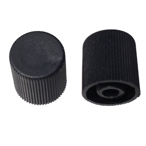 AC Service Valve Cap - Black High Side M10x0.75 - Interchanges: MT0068, 59938