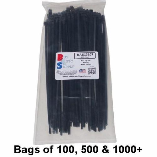 Bulk 8.5 Inch Zip Ties (40 Lbs)- USA Made