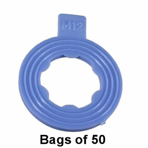 Oil Drain Plug Gasket - M12 Blue Nylon Interchange: Dorman 097-116, 097116, 66301