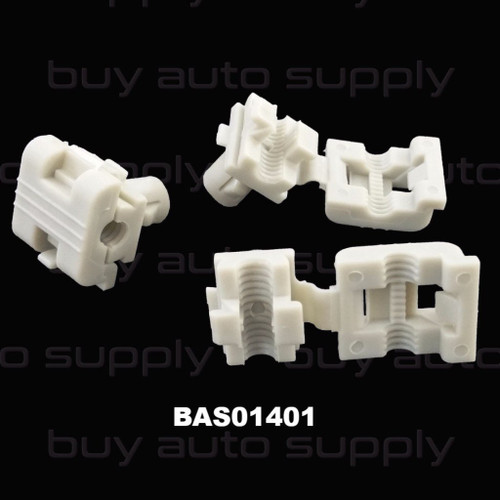 Door Rod Clip GM - Clam Shell - BAS01401 - Interchange 16629990, 16675980, 19658, 9981, 99-7998