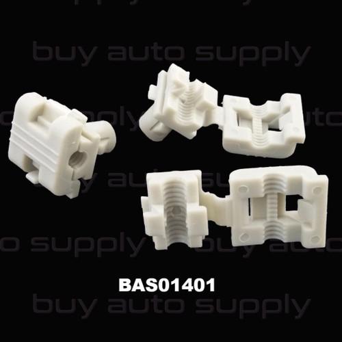 Door Rod Clip GM - Clam Shell - BAS01401 - Interchange 16629990, 16675980, 19658, 9981, 99-7998