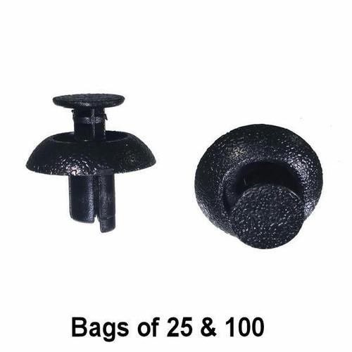 TOYOTA trou noir Bouchons d/'obturation Grommet trim clips