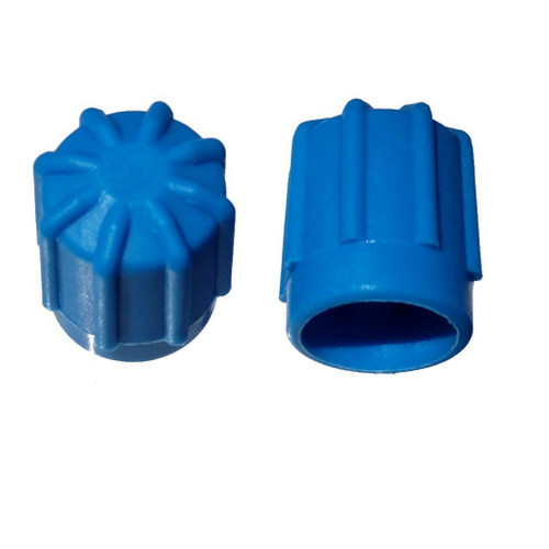 AC Service Valve Cap - Blue Low Side M8x1.0, Interchanges: MT0192