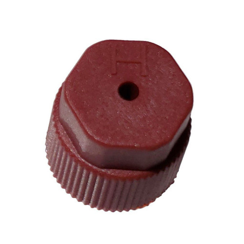 AC Service Cap R134a - Red High Side M8x1.0 - Interchanges: MT0069, 59988