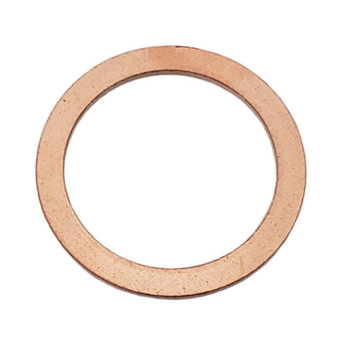 M20 Copper Drain Plug Gasket - Interchanges: Dorman 095-025, Volvo 18818