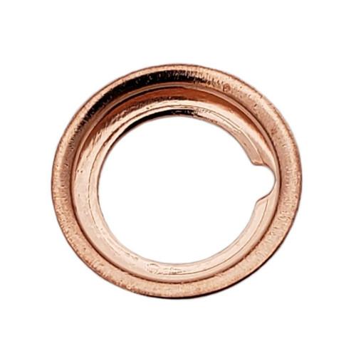 M12 Nissan Style Crush Drain Plug Gasket - Interchanges: Dorman 097-134, Nissan 11026-01M00, 11026-01M02, 11026-JA00A , Ford F4XY-6734-A, XF5Z-6734-AA