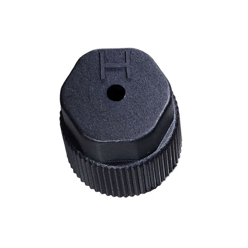 A/C Service Cap - Black High Side M8x1.0