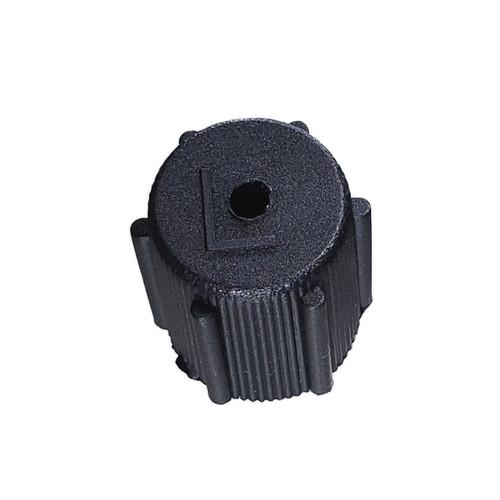 A/C Service Cap - Black Low Side M8x1.0