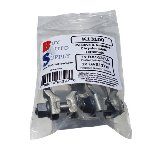 Chrysler Style Car Battery Terminal Clamp for Automotive Batteries