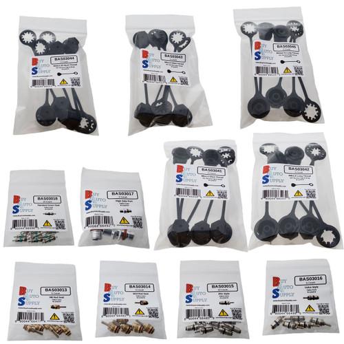 ASK13000 - R-1234YF Caps & Valves Starter Kit