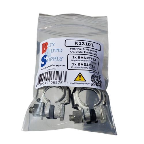 K13101 - Toyota / GM Style Battery Terminal Kit - Positive & Negative