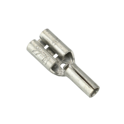 "BAS14584 - 22-18 Non-Insulated 0.187"" Female Quick Connect"