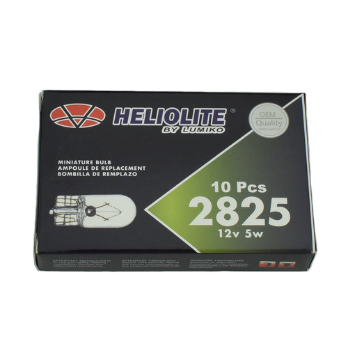 2825 Light Bulb - Wedge 12v 5w