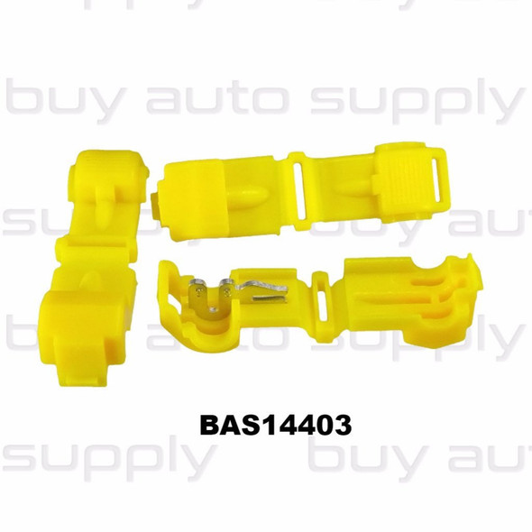 Yellow Electrical T-Tap (12-10 AWG) - BAS14403 - from Buy Auto Supply