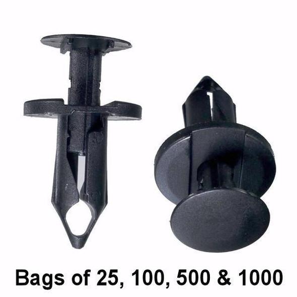 Push Pin Retainer Clip for Gm, Ford, Chrysler, Universal - Interchange: Auveco 17216 Dorman 700-867 700867 GM 21030249