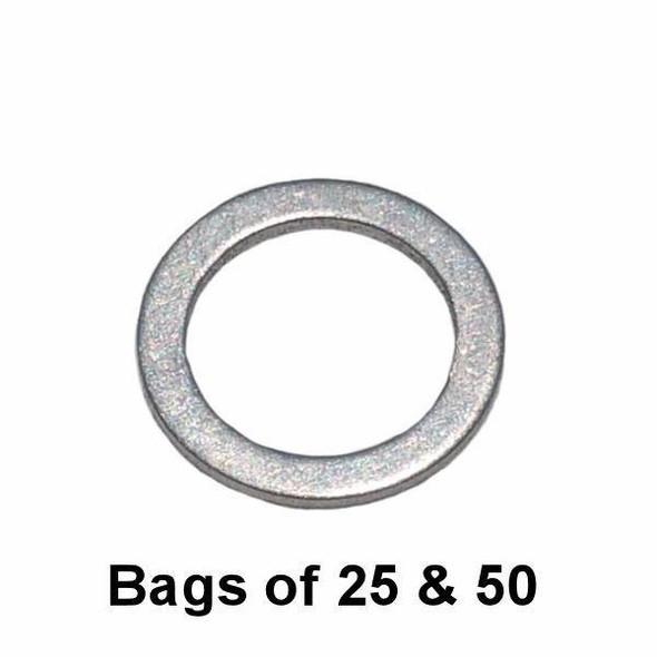 Oil Drain Plug Gasket - M14 Hyundai / Kia Style Aluminum Interchange: Dorman 095-147 095147