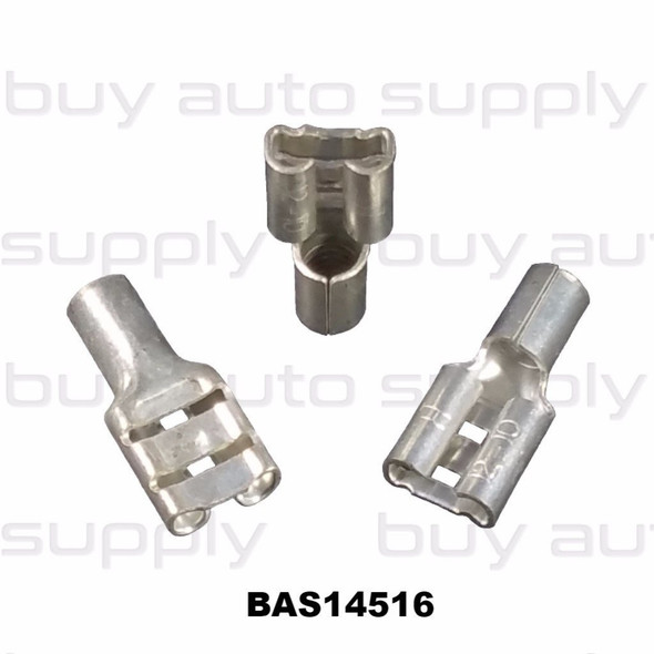 Female Quick Connect Terminal (Non-Insulated) 12-10 - BAS14516 - from Buy Auto Supply