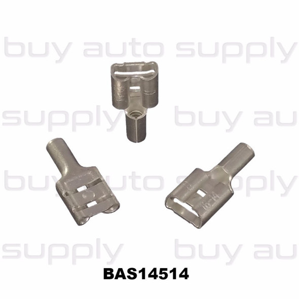 16-14 Female Quick Connect Terminal (Non-Insulated) - BAS14514 - from Buy Auto Supply