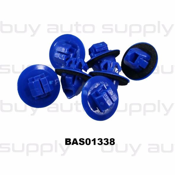 Toyota Flare and Trim Retainer - BAS01338 - Interchange 75495-35010, 20687, 10490, 99-8556