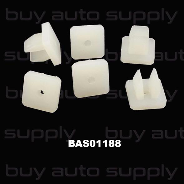12mm Toyota Screw Grommet #6 Screw - BAS01188 - Interchange 9018904011, 14271, 9112