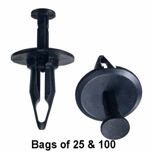 GM Bumper Push Retainer Clips - Interchange: Auveco 15045 GM 10053388 22542705